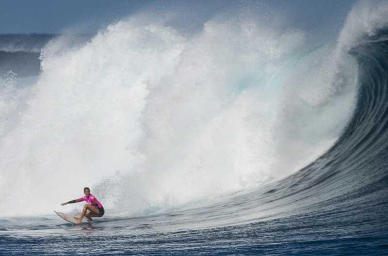 Fiji Pro Surfing