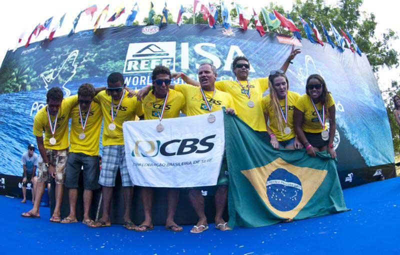 Equipe Brasileira nos Jogos da ISA fonte: internet