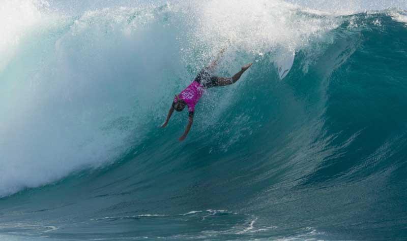 Stephanie Gilmore 2nd place Fiji Women's Pro 2014 - ASP / Steve Robertson