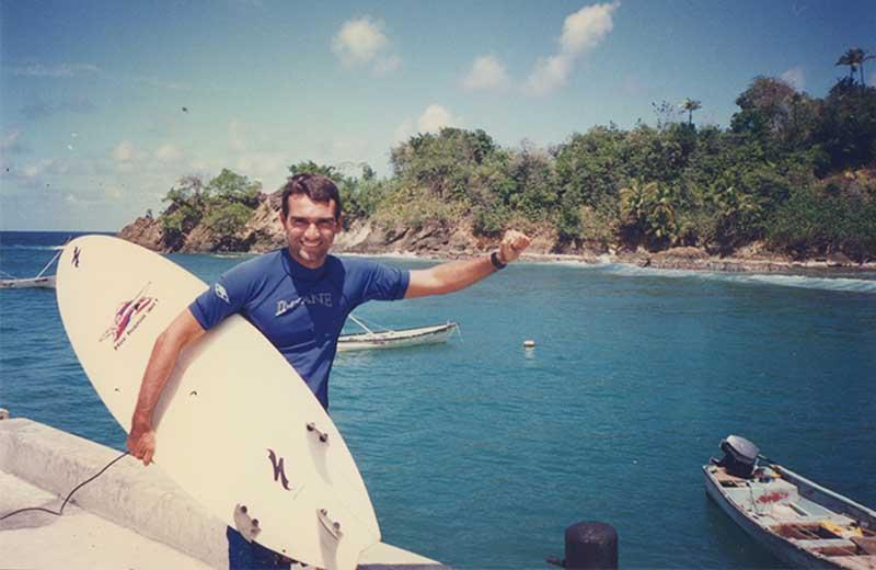Praia de Parlatuvier Tobago