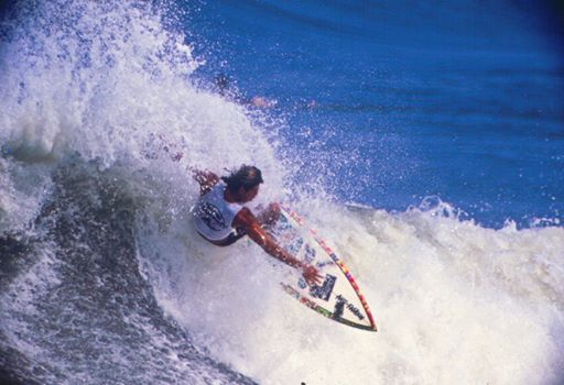 Dadá Figueiredo foi um dos maiores ídolos do surf brasileiro. Foto : Alberto Sodré