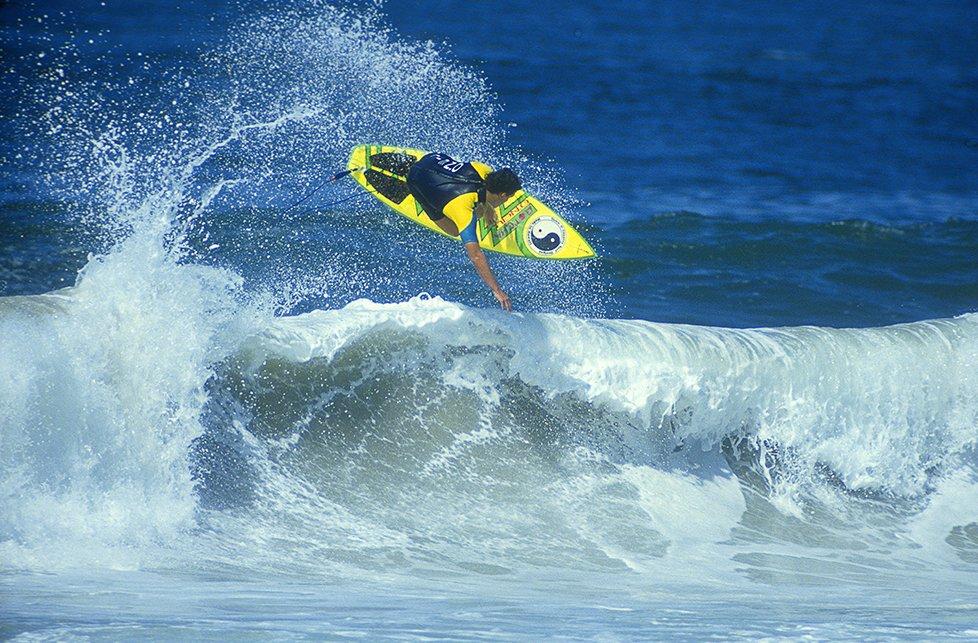 Martin Potter foi um dos responsáveis pela mudança do julgamento das competições de surf.