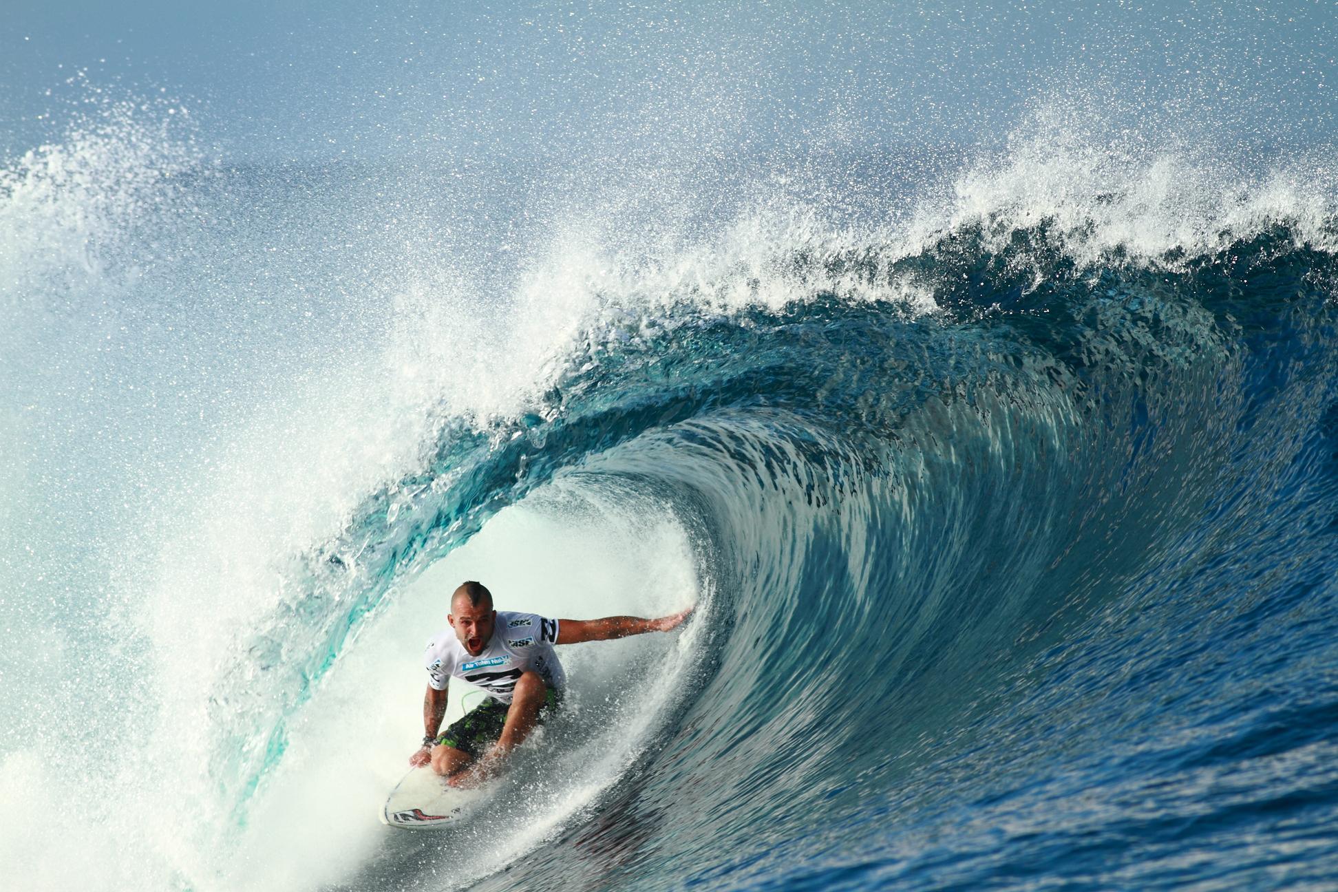 Neco Padaratz foi um dos adeptos do power surf. Foto: Aleko
