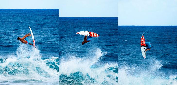 Gabriel Medina impressiona pelas suas manobras inovadoras e competitividade. Fonte: Surfing