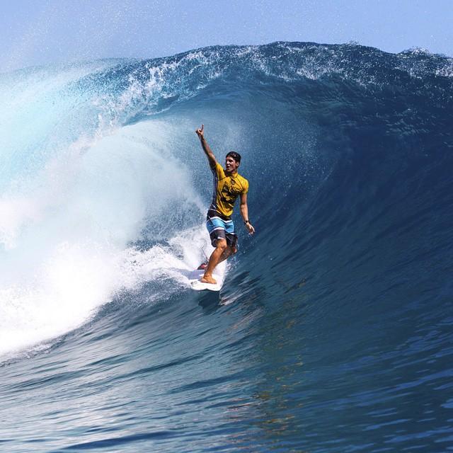 O surf brasileiro comemora o sonhado título de camepão mundial, conquistado por Gabriel Medina Photo: @kirstinscholtz