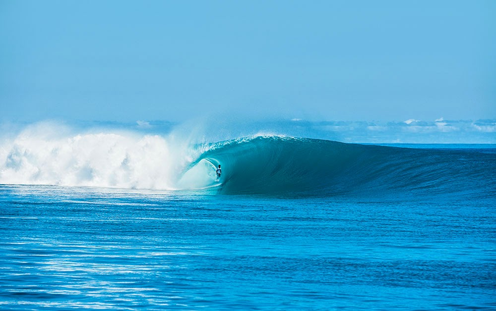 Ricardinho aonde se sentia mais a vontade. Foto: Surfer Mag