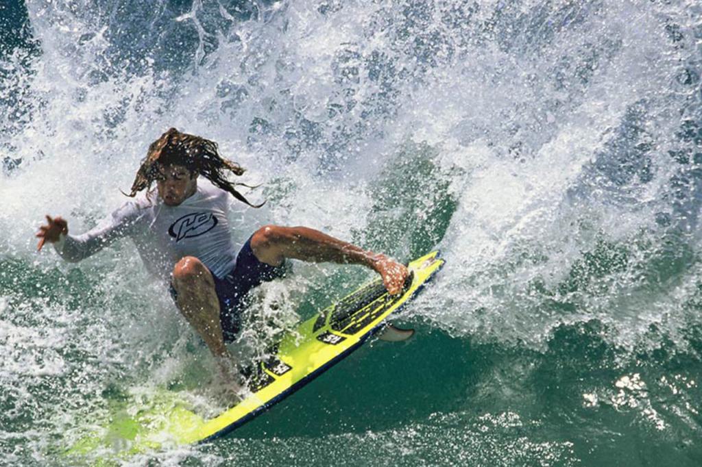 Com certeza um dos maiores ídolos do surf brasileiro de todos os tempos.