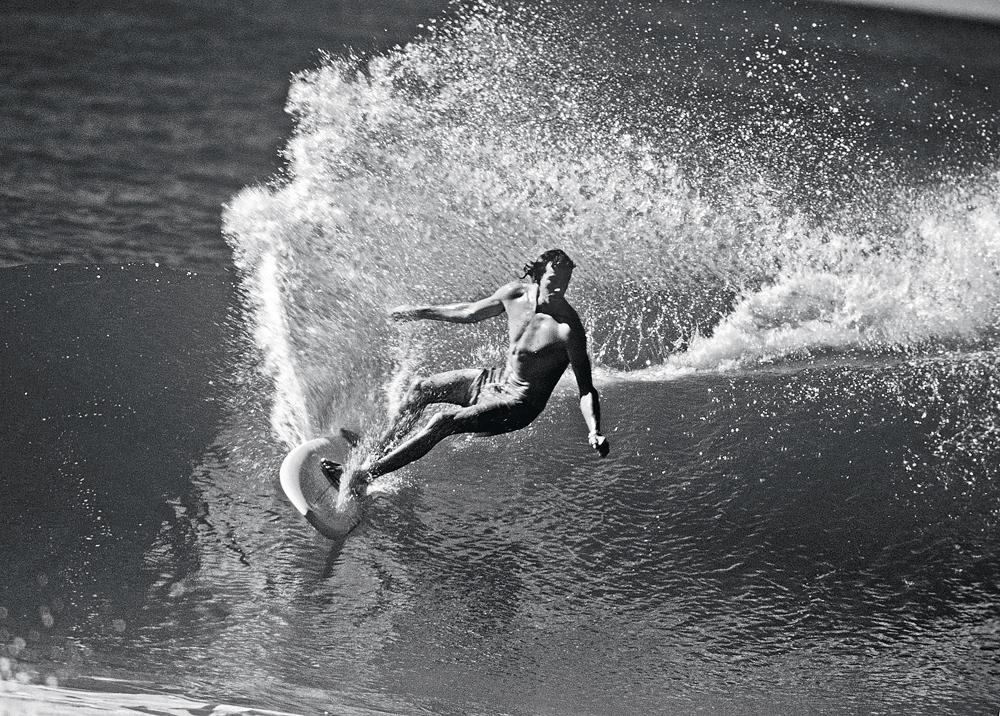 Michael Peterson foi um dos pioneiros do power surf.