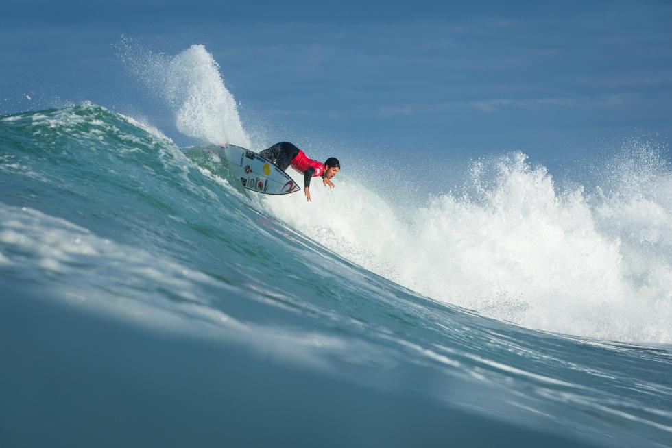 O título de campeão mundial de Gabriel Medina foi fundamental para a retomada do crescimento do surf nacional. Foto: WSL