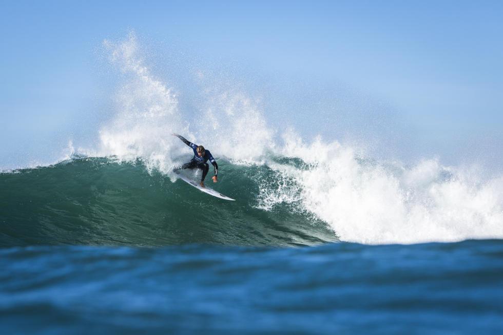 Lucas Silveira em ação. Foto: WSL