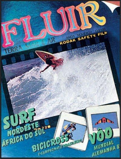 Capa da primeira Revista Fluir.