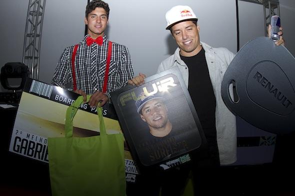 Prêmio Fluir sempre foi considerado o Oscar do surf brasileiro. Foto : Fluir