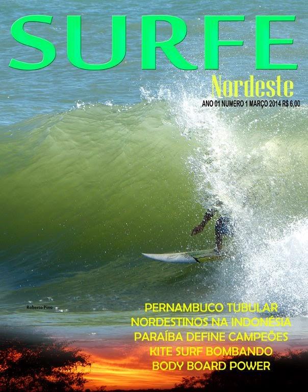 Revista Surf Nordeste em nova versão.