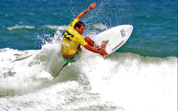 Claudio Marroquim em ação no brasileiro master da CBS. Foto: Divulgação