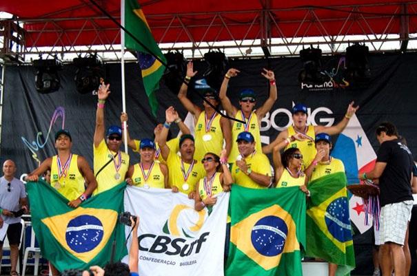 Equipe brasileira no ISA Games de 2011. Foto: ISA/ Divulgação